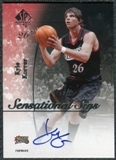 2005/06 Upper Deck SP Authentic Sensational Sigs #KK Kyle Korver Autograph