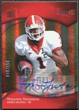 2009 Upper Deck Icons Autographs #167 Mohamed Massaquoi RC Autograph 40/150