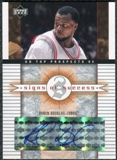 2003/04 Upper Deck UD Top Prospects Signs of Success #SSRD Ruben Douglas Autograph