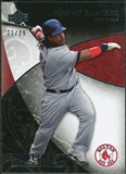 2007 Upper Deck Exquisite Collection Rookie Signatures #14 Manny Ramirez /99