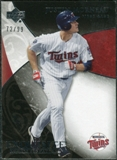 2007 Upper Deck Exquisite Collection Rookie Signatures #23 Justin Morneau /99