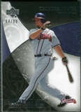 2007 Upper Deck Exquisite Collection Rookie Signatures #39 Chipper Jones /99