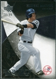 2007 Upper Deck Exquisite Collection Rookie Signatures #51 Hideki Matsui /99