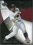 2007 Upper Deck Exquisite Collection Rookie Signatures #56 Carlos Lee /99