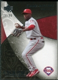 2007 Upper Deck Exquisite Collection Rookie Signatures #82 Jimmy Rollins /99