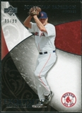 2007 Upper Deck Exquisite Collection Rookie Signatures #86 Jonathan Papelbon /99