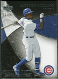 2007 Upper Deck Exquisite Collection Rookie Signatures #100 Alfonso Soriano /99