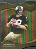 2009 Upper Deck Icons Gold Holofoil Die Cut #194 Terry Bradshaw /25