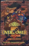 Marvel Over Power Monumental Booster Box (Fleer) (1996)