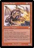 Magic the Gathering Scourge Single Dragon Tyrant MODERATE PLAY (VG/EX)