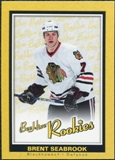 2005/06 Upper Deck Beehive Rookie #122 Brent Seabrook RC