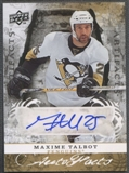 2008/09 Artifacts #AFMT Maxime Talbot Auto Facts Auto