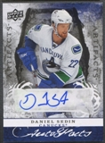 2008/09 Artifacts #AFDS Daniel Sedin Auto Facts Auto