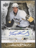 2008/09 Artifacts #AFTK Tyler Kennedy Auto Facts Auto