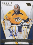 2011/12 Panini Rookie Anthology #35 Pekka Rinne Expo 12 Auto #1/1