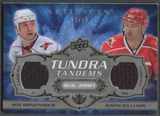 2008/09 Artifacts #TTWB Justin Williams & Rod Brind'Amour Tundra Tandems Silver Jersey #23/50