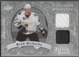 2008/09 Artifacts #TSDBR Brad Richards Treasured Swatches Jersey Patch #27/35