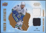 2008/09 Artifacts #FADMN Markus Naslund Frozen Artifacts Dual Jersey #183/199