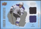 2008/09 Artifacts #FADAK Anze Kopitar Frozen Artifacts Dual Silver Jersey #079/100