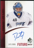 2010/11 Upper Deck SP Authentic #251 Dustin Tokarski RC Autograph /999