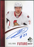 2010/11 Upper Deck SP Authentic #260 Kaspars Daugavins Autograph /999