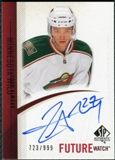 2010/11 Upper Deck SP Authentic #274 Cody Almond Autograph /999
