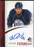 2010/11 Upper Deck SP Authentic #282 Alex Plante RC Autograph /999