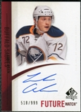 2010/11 Upper Deck SP Authentic #287 Luke Adam Autograph /999