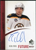 2010/11 Upper Deck SP Authentic #302 Zach Hamill Autograph /999