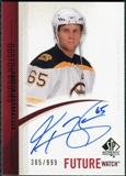 2010/11 Upper Deck SP Authentic #303 Andrew Bodnarchuk Autograph /999