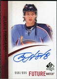 2010/11 Upper Deck SP Authentic #305 Alexander Burmistrov Autograph /999