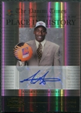2010/11 Playoff Contenders Patches Place in History Autographs Gold #8 Amare Stoudemire /49