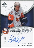 2008/09 Upper Deck SP Authentic #200 Kyle Okposo RC Autograph /999