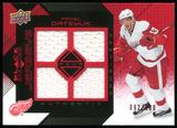 2008/09 Upper Deck Black Diamond Jerseys Quad Ruby #BDJPD Pavel Datsyuk 92/100