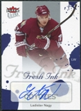 2005/06 Fleer Ultra Fresh Ink #FILN Ladislav Nagy SP Autograph