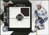 2008/09 Upper Deck Black Diamond Jerseys Quad #BDJMS Martin St. Louis