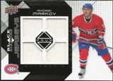 2008/09 Upper Deck Black Diamond Jerseys Quad #BDJMV Andrei Markov