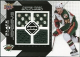 2008/09 Upper Deck Black Diamond Jerseys Quad #BDJPI Pierre-Marc Bouchard