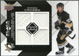 2008/09 Upper Deck Black Diamond Jerseys Quad #BDJSC Sidney Crosby