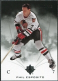 2010/11 Upper Deck Ultimate Collection #13 Phil Esposito /399