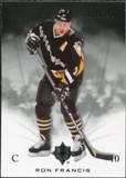 2010/11 Upper Deck Ultimate Collection #45 Ron Francis /399