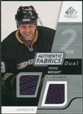2008/09 Upper Deck SP Game Used Dual Authentic Fabrics #AFDW Doug Weight
