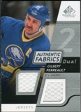 2008/09 Upper Deck SP Game Used Dual Authentic Fabrics #AFGP Gilbert Perreault