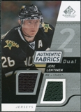2008/09 Upper Deck SP Game Used Dual Authentic Fabrics #AFJL Jere Lehtinen