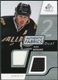 2008/09 Upper Deck SP Game Used Dual Authentic Fabrics #AFMM Mike Modano