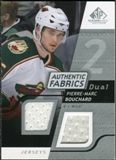 2008/09 Upper Deck SP Game Used Dual Authentic Fabrics #AFPB Pierre-Marc Bouchard