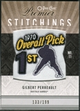 2009/10 Upper Deck OPC Premier Stitchings #PSGP Gilbert Perreault /199