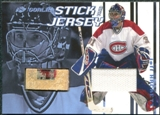 2001/02 In the Game Between the Pipes Jerseys and Sticks #GSJ22 Jeff Hackett /90