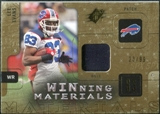2009 Upper Deck SPx Winning Materials Patch #WLE Lee Evans /99