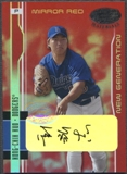 2003 Leaf Certified Materials #209 Hong-Chih Kuo Mirror Red Auto #02/50